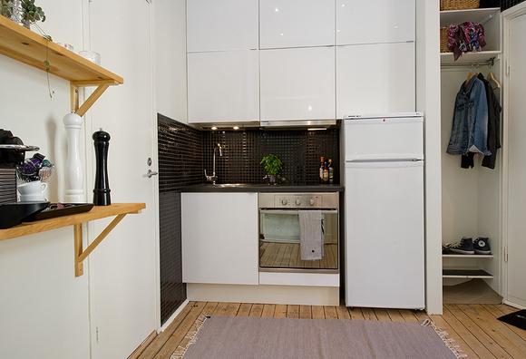 7 dise os de cocinas muy peque as - Cocinas muy pequenas ...