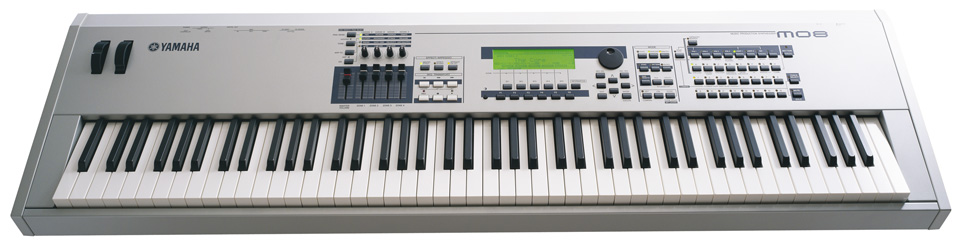 steve s gear music blog keyboard synthesizer timeline rh stevesgear blogspot com Yamaha MO8 Power Adapter Yamaha MO8 Power Adapter