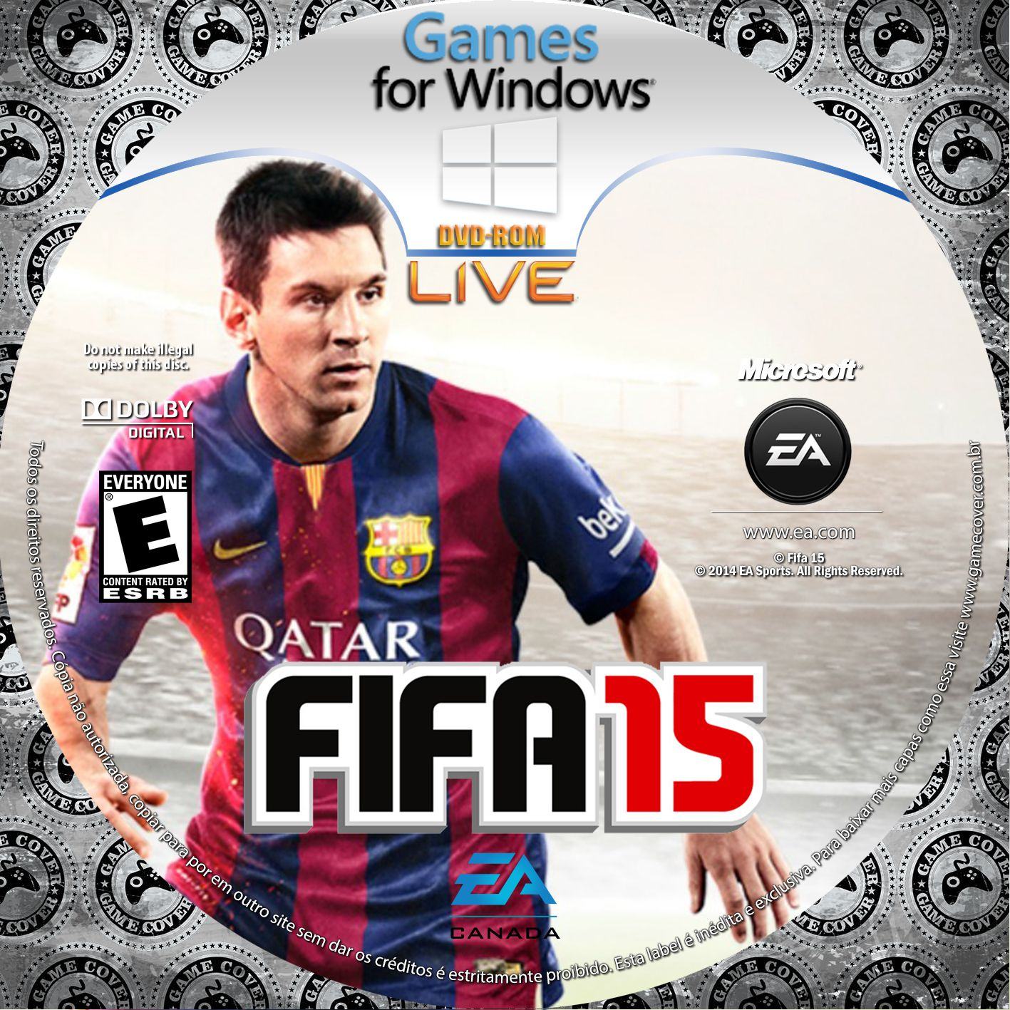 Label Fifa 15 PC [Exclusiva]