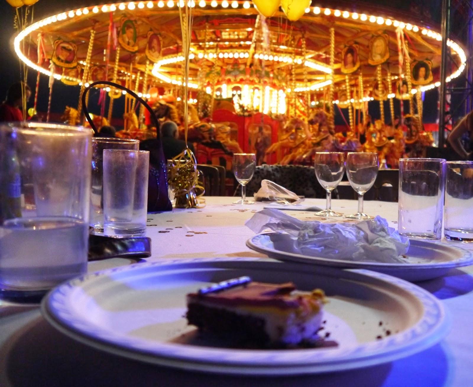 Carters Steam Fair Wedding - wedding cake
