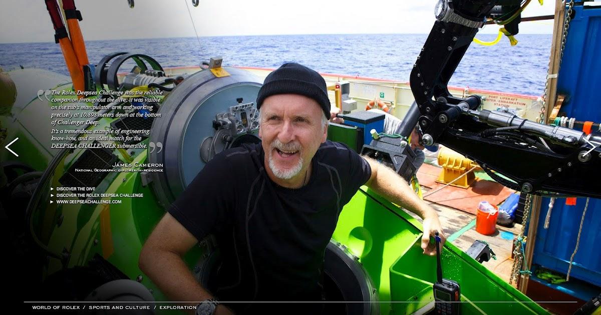 Rolex James Cameron Quote Deepsea Challenge Dive Jakes Magazine