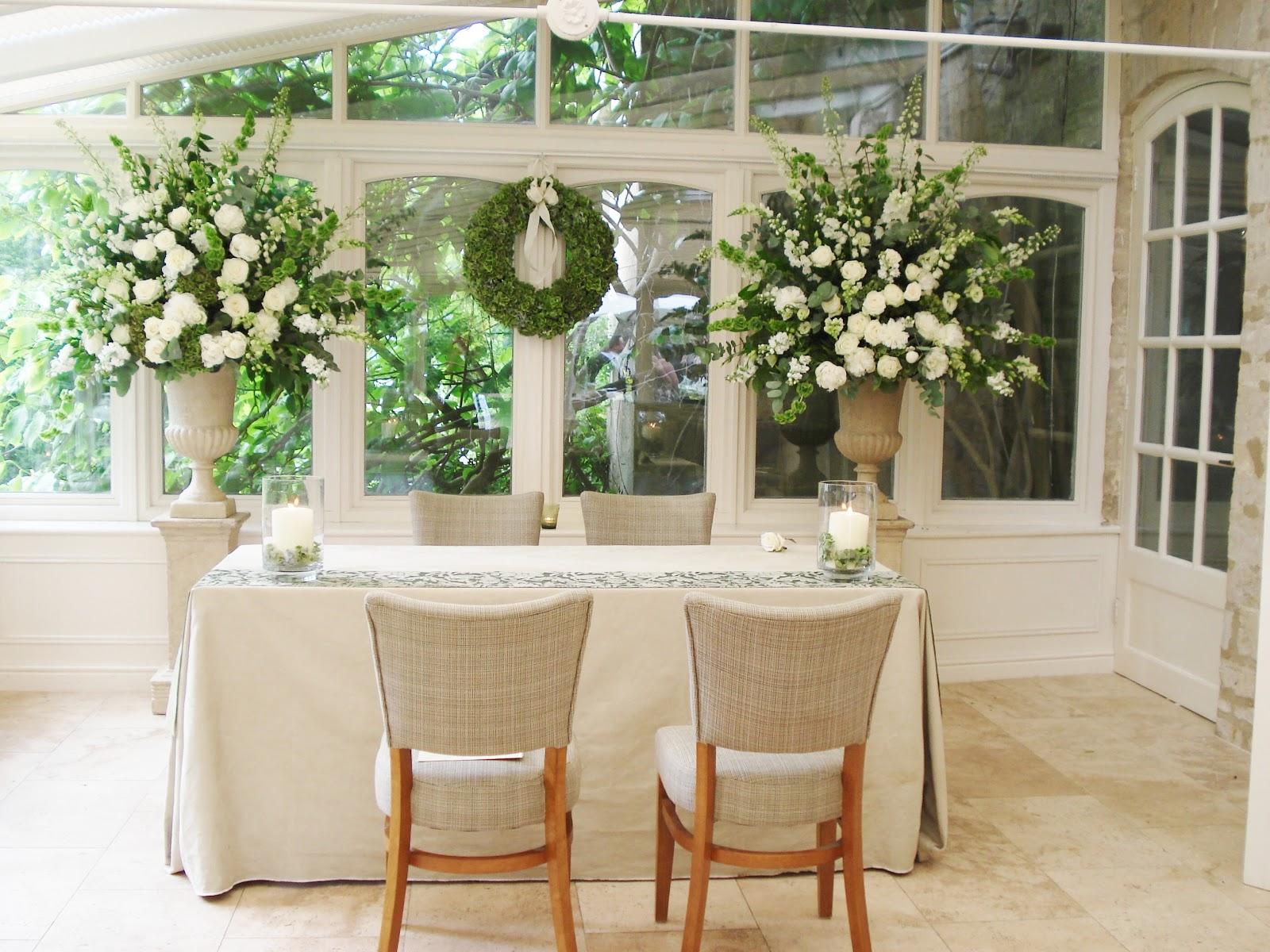Wedding ceremony flower ideas wedding ceremony for Wedding ceremony table decorations