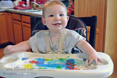 Finger Paint Fun!