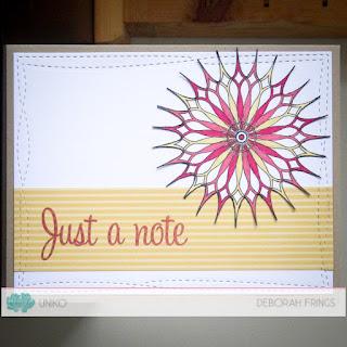 Just a Note sq - photo by Deborah Frings - Deborah's Gems
