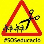 SOS educació, inici de curs 2015-2016