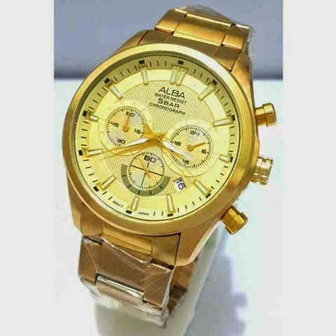 Alba Triple Chrono full gold