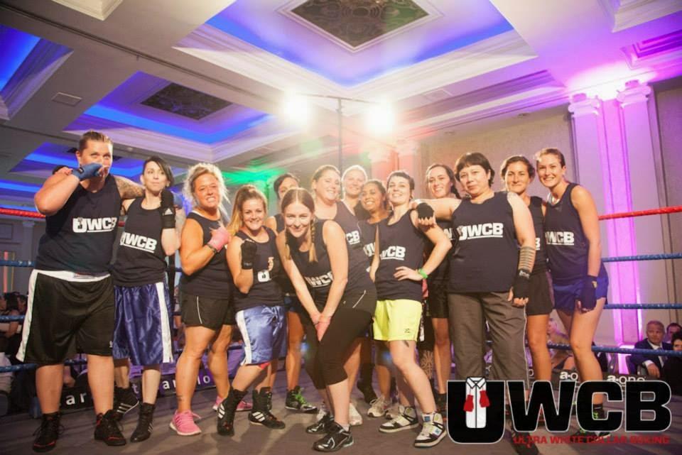 Ladies Ultra White Collar Boxing - Brighton