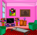 EightGames Colorful Living Room Escape