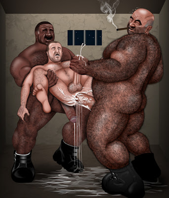 furry gay art - drawing gay - brute by simon bear galleries