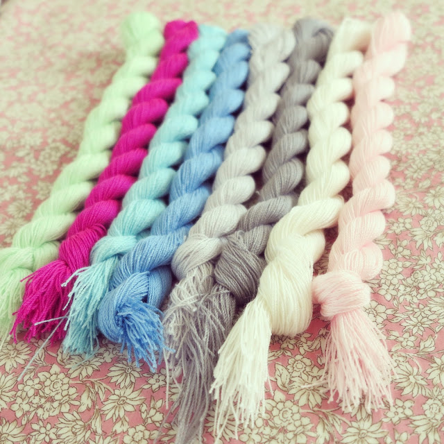 ByHaafner, crochet, yarn, pastel