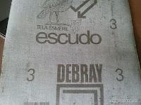 Tela esmeril. www.enredandonogaraxe.com