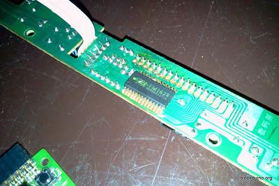 DVD LED модуль с TM1628