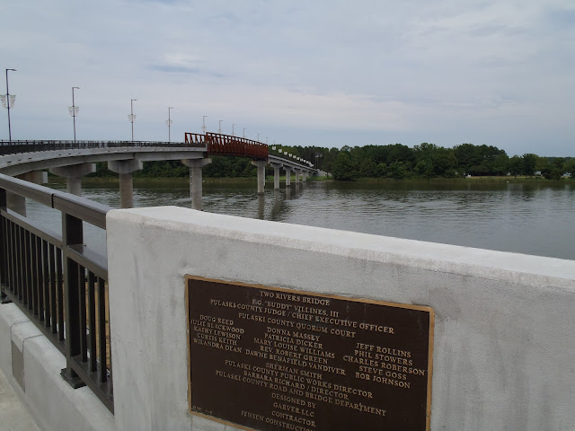 Two Rivers Bridge, Little Rock, Arkansas River