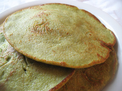 Indian Lentil and Rice Pancakes