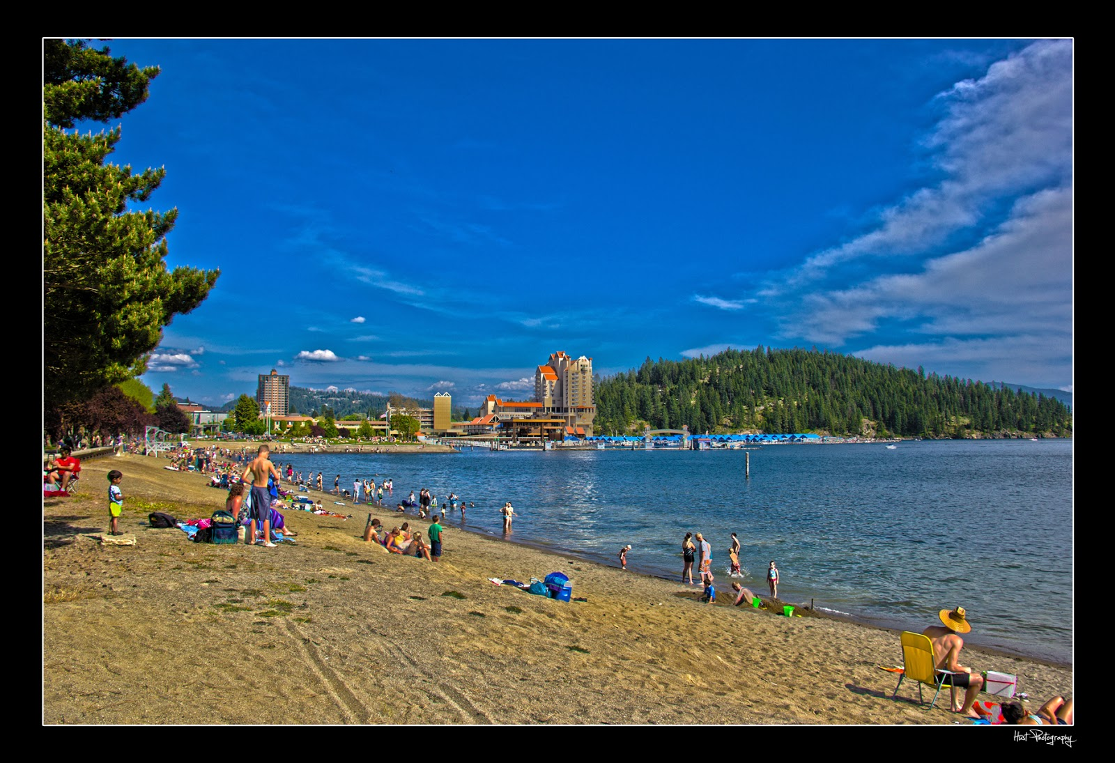 Skyline Productions Coeur D Alene City Beach With Tubbs