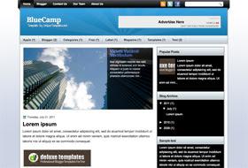 BlueCamp Blogger Template