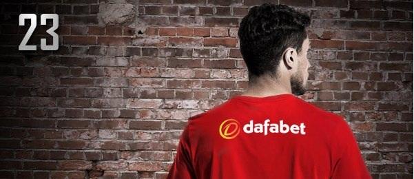 dafabet facebook promo I wear dafa