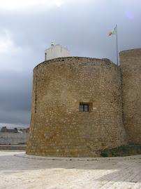 Feu de Castellammare del Golfo (Sicile, Italie)