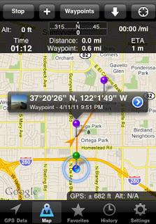 GPS Tracks IPA 1.3.2