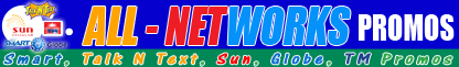 Smart, Sun, Talk 'N Text, Globe and TM Promos 2014 - 2015