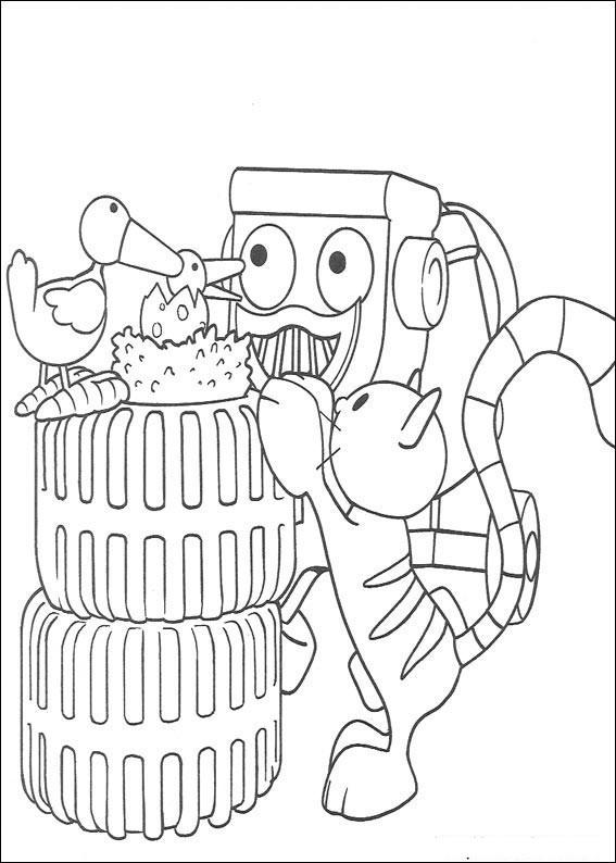 imprimer des dessins faciles et amusant à colorier