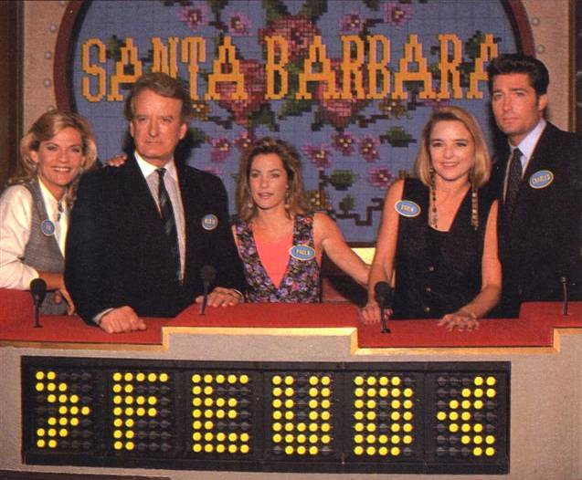 Family Feud. The teams of Santa Barbara and The Bold and the Beautiful