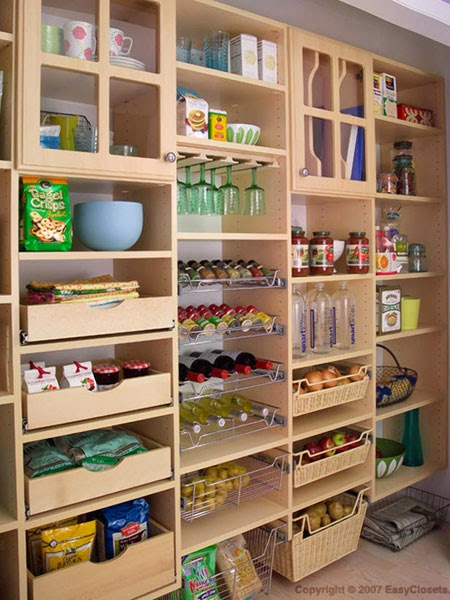 Kitchen pantry shelving design ideas kitchen home design for Organization ideas for kitchen pantry