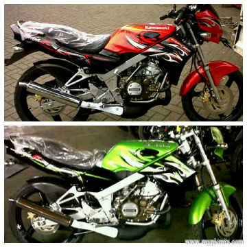 New Ninja 150 L   R and N   SS 2012 Edition   Motorcycles and