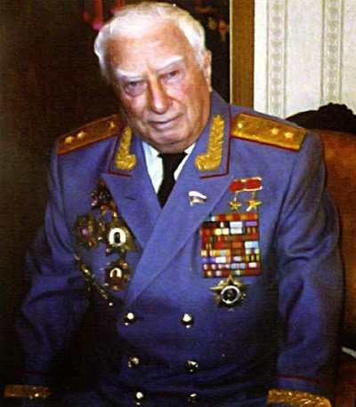 Felix Dadaev in his military uniform.