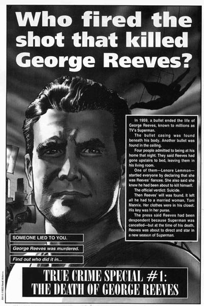 George Reeves Death Scene