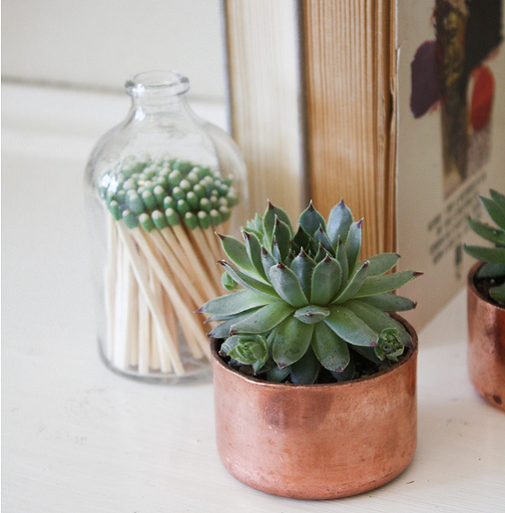 C mo decorar con objetos de cobre ideas diy blog f de fifi manualidades imprimibles y - Objetos fabricados con cobre ...
