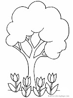 Green Earth Kids Coloring Pages