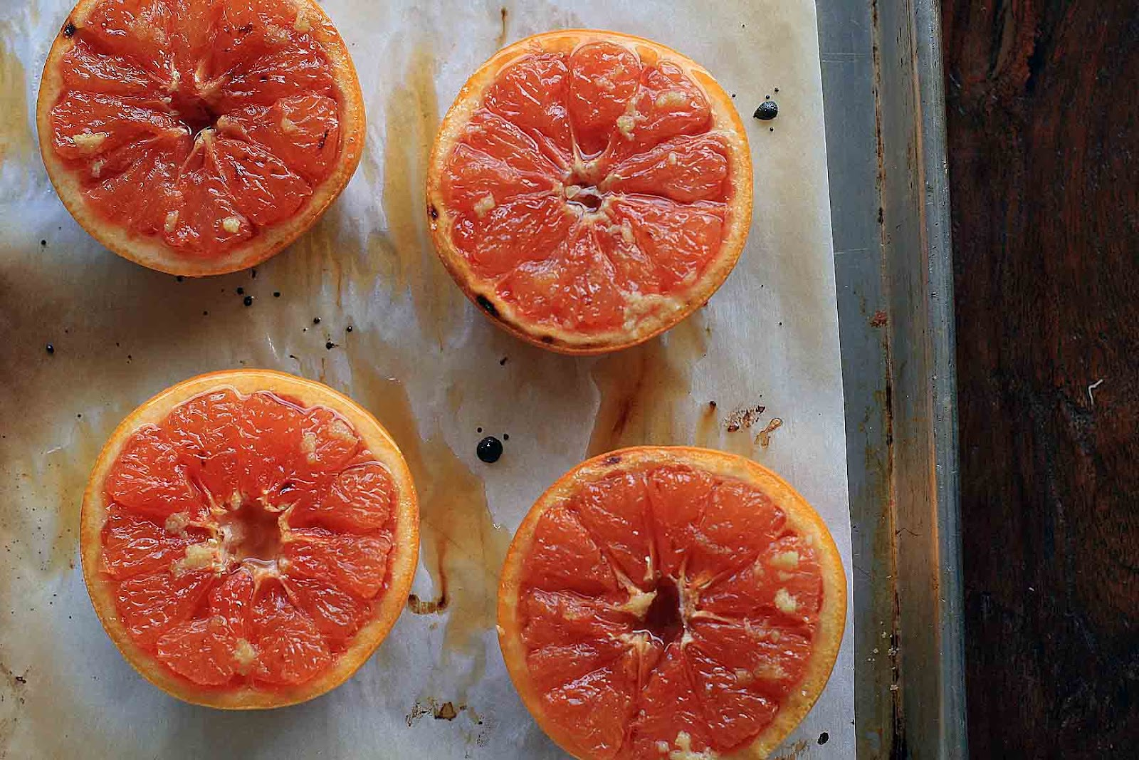 Broiled Grapefruit with Ginger and Brown Sugar | Girl ...