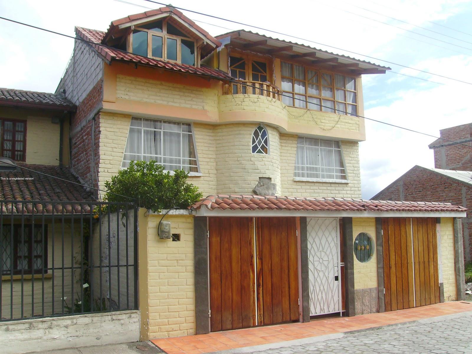 Casa bonita en venta al norte de riobamba casa en venta - Cerramientos casas ...