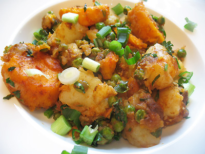 Indian-Style Potato and Pea Salad with Tamarind and Chat Masala | Lisa ...