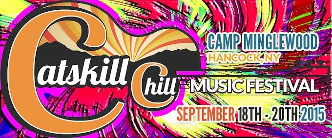 Catskill Chill Music Festival 2015 line-up announced