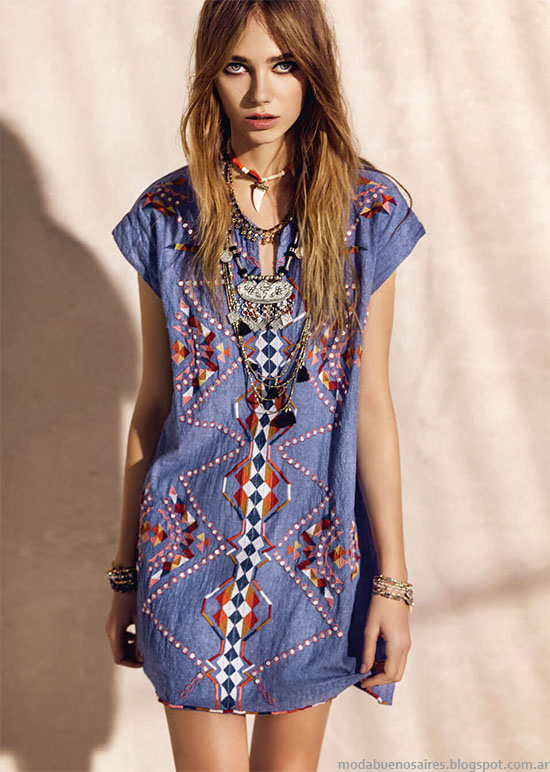 Modelos de vestidos hipster