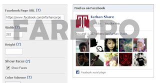 Cara Memasang FB Fan Page Like Box di Blog
