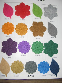 Polyester Felt - 1m(RM12.00), 1/2m(RM7.00), 1/4m(RM5.00)