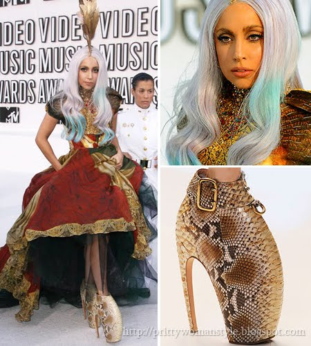 Лейди Гага обувки Alexander McQueen