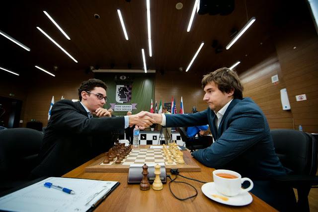 Grand Prix Khanty-Mansiysk. Karjakin - Caruana.
