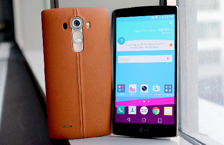 LG G4 synthesis of futuristic screen technology and sophisticated design
