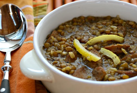 Slow Cooker from Scratch®: Slow Cooker Lentil and Brown Rice Soup ...