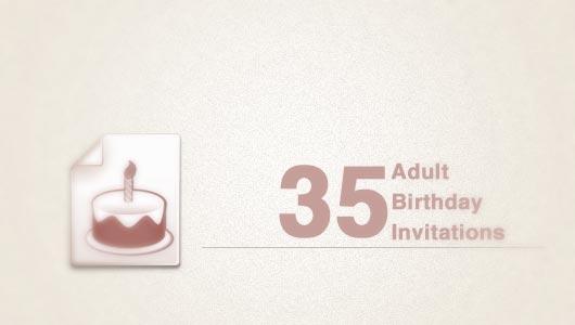 Adult birthday invitations 35 pretty examples jayce o yesta examples of adult birthday invitations stopboris Choice Image