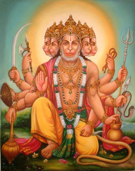 Lord Sri Panchamuka Hanuman