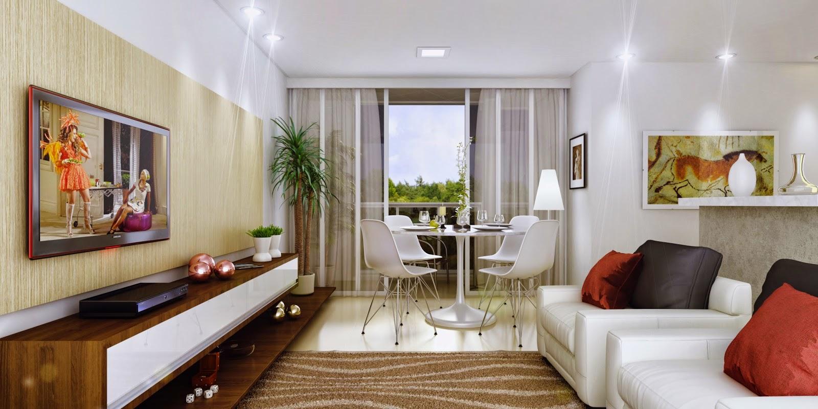 Dica Tapete Sala Pequena ~  Apê Dica Aprendendo a utilizar melhor o espaço da sala integrada