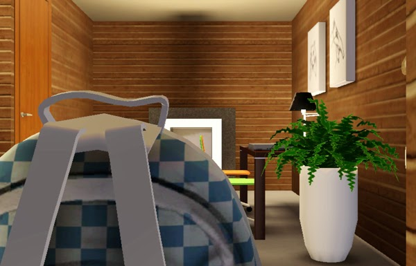 [LIVING DESIGN] WOODEN BOX HOUSE THE SIMS 3 kid bedroom
