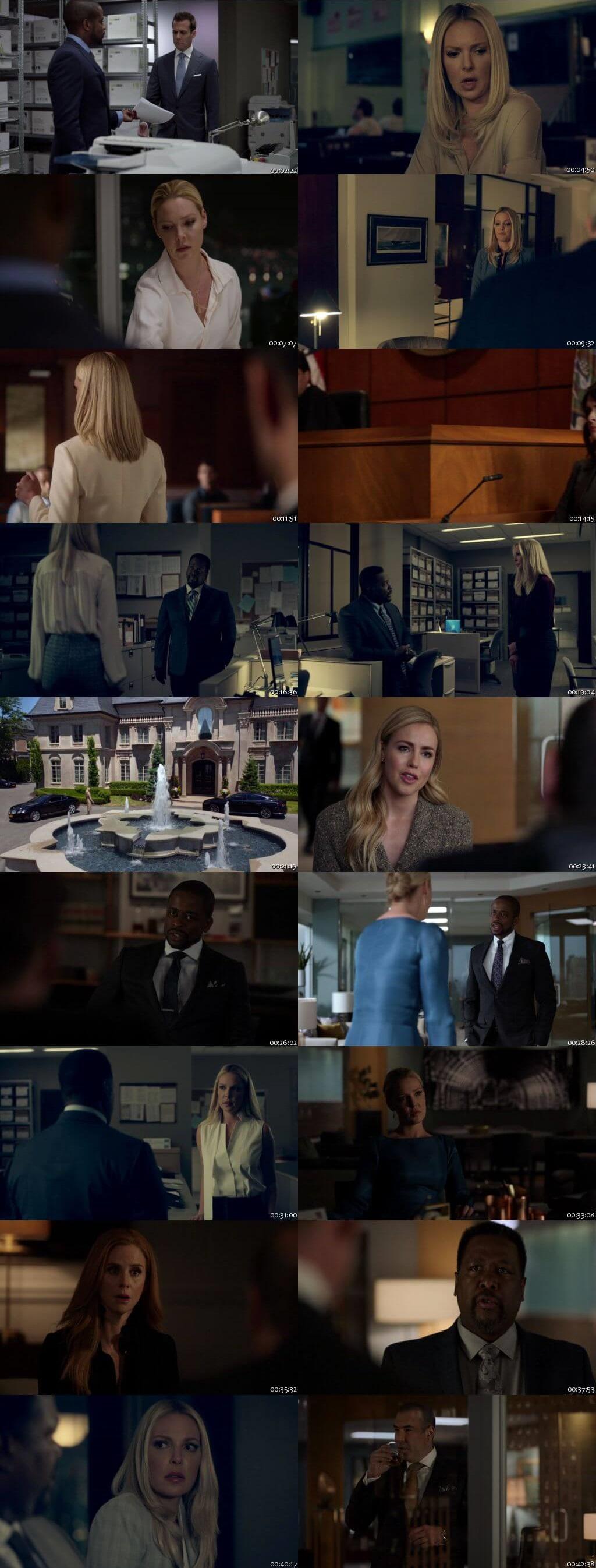 Screenshots Of English Show Suits Season 08 Episode 10 2018 WEB-DL 720P 300MB