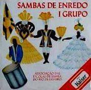 foto da capa do cd sambas de enredo 1991 grupo de acesso