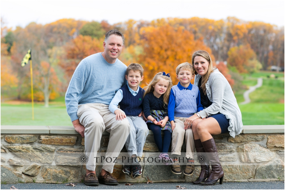 Hillendale Country Club Family Portrait Baltimore